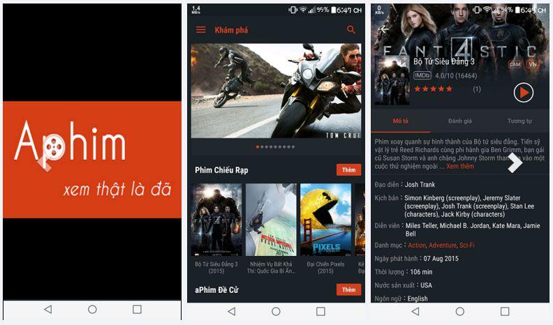 aPhim - Ứng dụng xem phim HD tốt nhất trên di động 2017 (1)