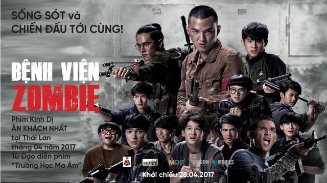 Zombie Fighters - Phim kinh dị Thái cập bến rạp phim Việt mùa lễ (1)