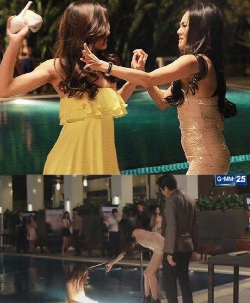 Điểm lại 4 màn đánh ghen kinh hoàng trong phim Thái (3)