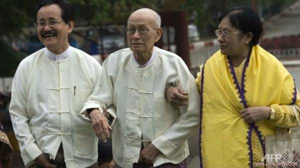 Vị vua cuối cùng của Myanmar tức giận vì phim A Lady's Flames (1)