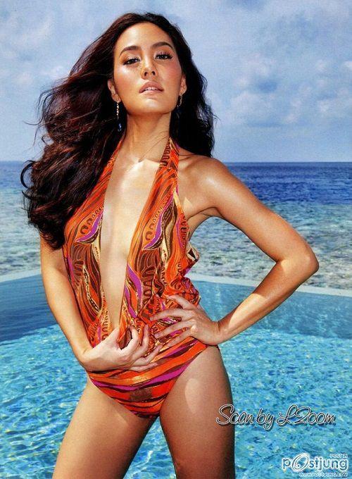 Bỏng mắt với thân hình sexy của mỹ nhân Janie Tienphosuwan (2)
