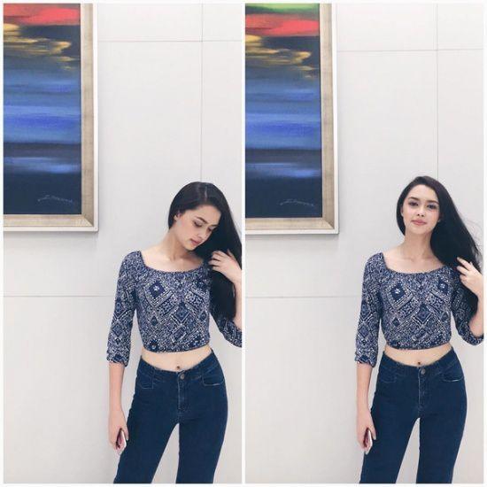 Ngắm gu thời trang sành điệu của loạt mỹ nhân Thái (41)