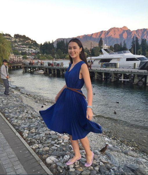 Ngắm gu thời trang sành điệu của loạt mỹ nhân Thái (44)
