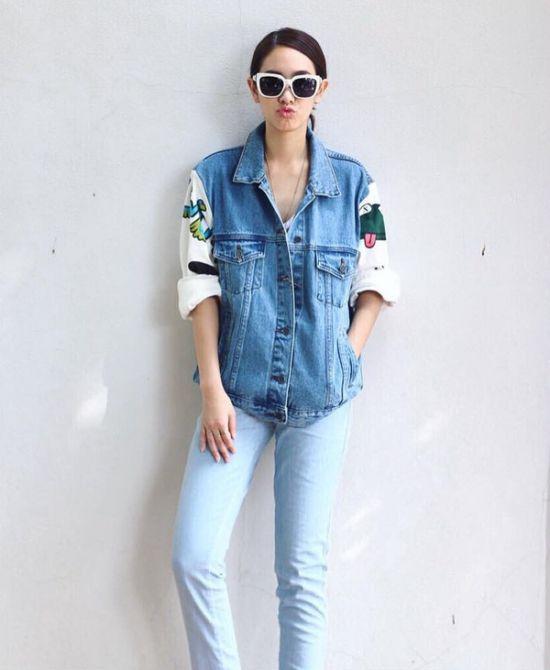 Ngắm gu thời trang sành điệu của loạt mỹ nhân Thái (49)