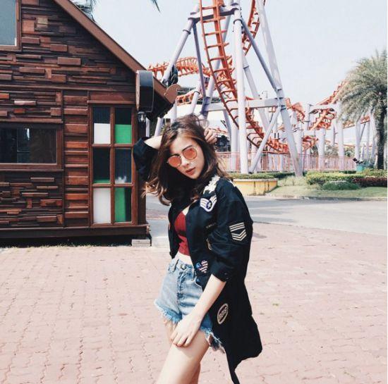 Ngắm gu thời trang sành điệu của loạt mỹ nhân Thái (12)