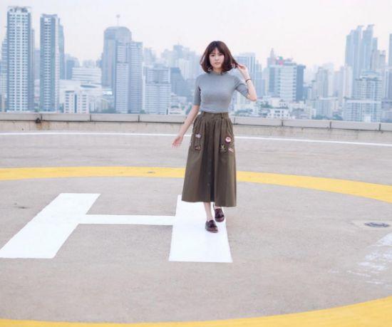 Ngắm gu thời trang sành điệu của loạt mỹ nhân Thái (14)