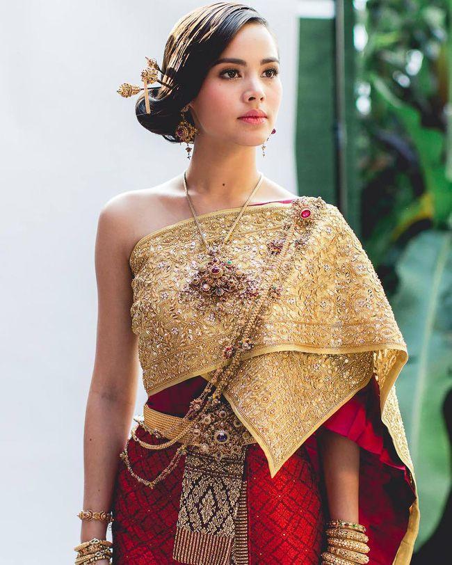 Ngắm mỹ nhân Thái đẹp xuất thần trong trang phục truyền thống (1)