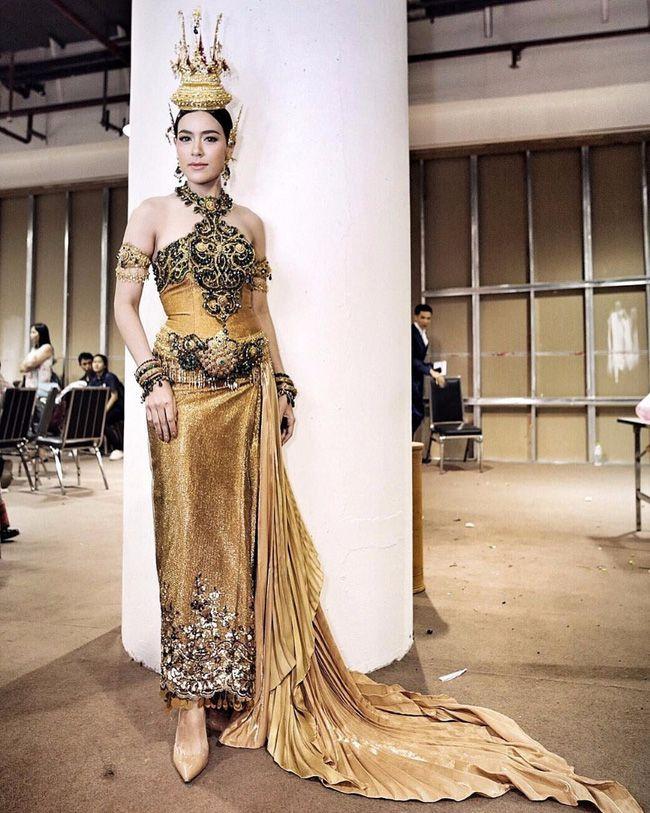 Ngắm mỹ nhân Thái đẹp xuất thần trong trang phục truyền thống (2)