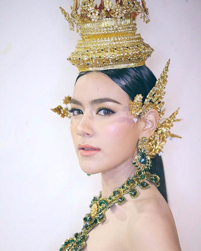 Ngắm mỹ nhân Thái đẹp xuất thần trong trang phục truyền thống (3)