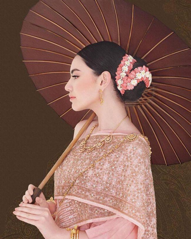 Ngắm mỹ nhân Thái đẹp xuất thần trong trang phục truyền thống (5)