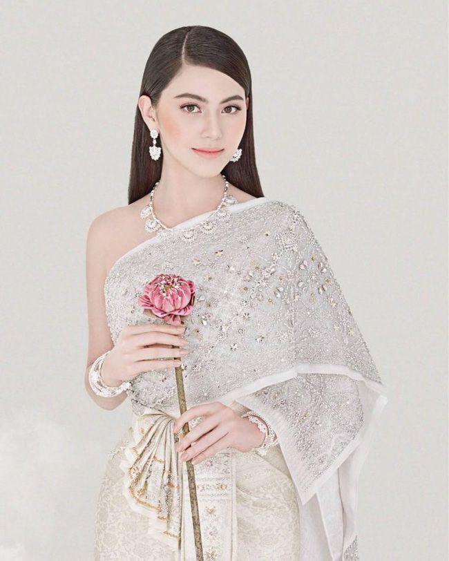 Ngắm mỹ nhân Thái đẹp xuất thần trong trang phục truyền thống (6)