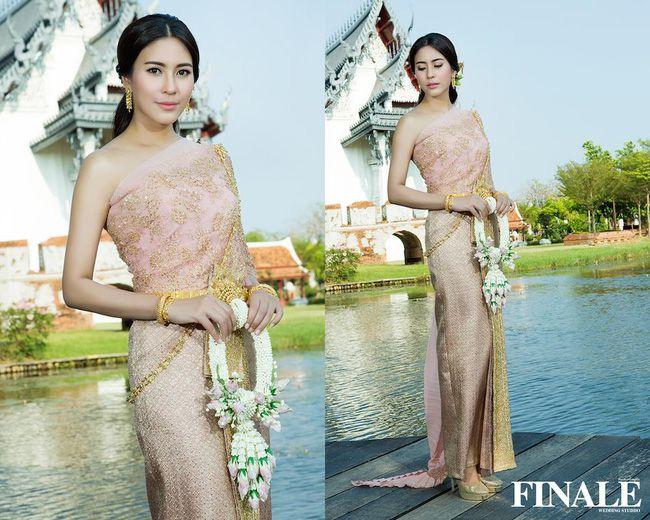 Ngắm mỹ nhân Thái đẹp xuất thần trong trang phục truyền thống (7)