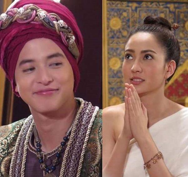 Taew Natapohn sánh đôi cùng James Ji trong phim cổ trang Neung Dao Fah Diew (9)