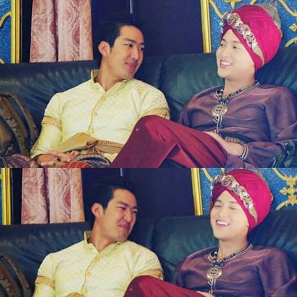 Taew Natapohn sánh đôi cùng James Ji trong phim cổ trang Neung Dao Fah Diew (15)