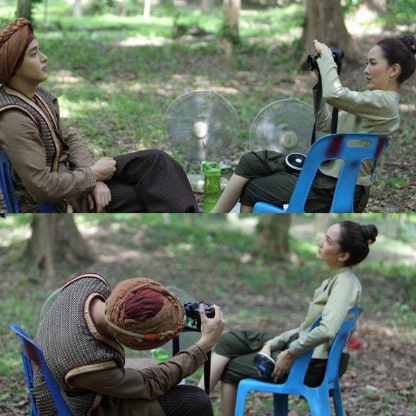 Taew Natapohn sánh đôi cùng James Ji trong phim cổ trang Neung Dao Fah Diew (16)