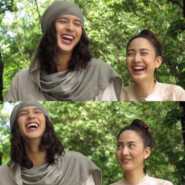 Taew Natapohn sánh đôi cùng James Ji trong phim cổ trang Neung Dao Fah Diew (18)