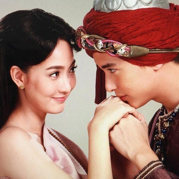 Taew Natapohn sánh đôi cùng James Ji trong phim cổ trang Neung Dao Fah Diew (2)