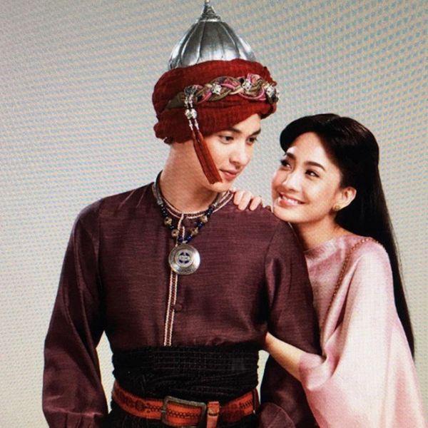 Taew Natapohn sánh đôi cùng James Ji trong phim cổ trang Neung Dao Fah Diew (4)