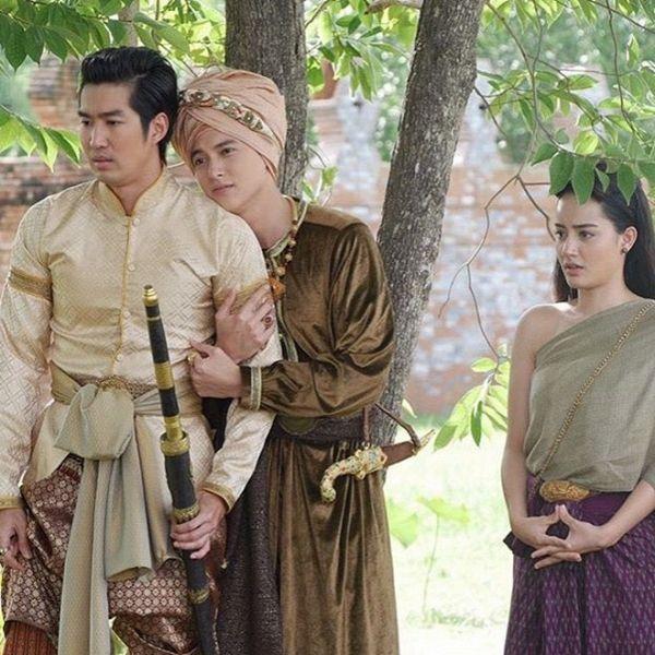 Taew Natapohn sánh đôi cùng James Ji trong phim cổ trang Neung Dao Fah Diew (8)