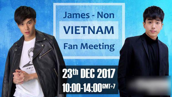 Nonkul & James: 2 nam chính của 'Bad Genius' sẽ đến Việt Nam vào tháng 12 (14)