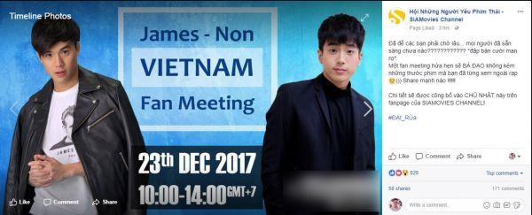 Nonkul & James: 2 nam chính của 'Bad Genius' sẽ đến Việt Nam vào tháng 12 (5)