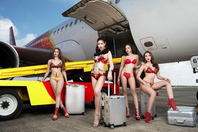 Á hậu chuyển giới Kwan Lada nóng bỏng trong bộ lịch Bikini Vietjet 2018 (8)