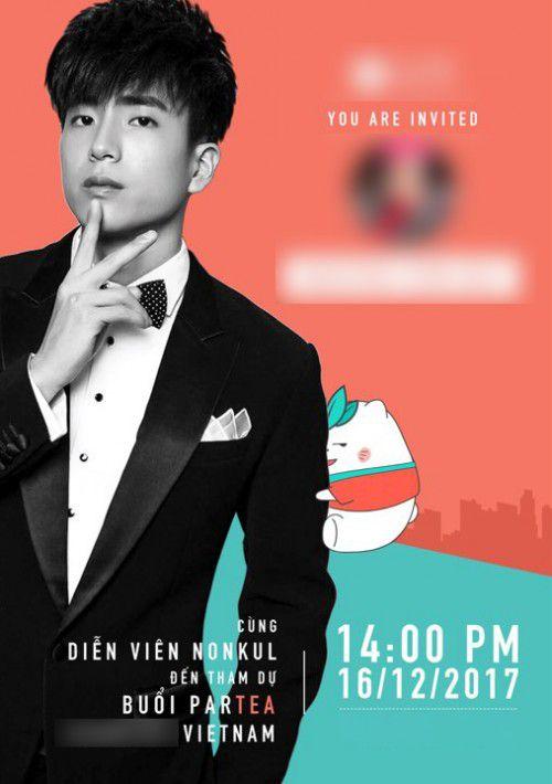 """Chàng """"Bank"""" Nonkul Chanon có cuộc hẹn sớm với fan hâm mộ tại Việt Nam (3)"""
