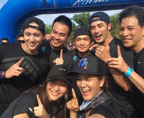 James Jirayu & Boy Pakorn chạy bộ từ thiện trong concert James 4D (9)