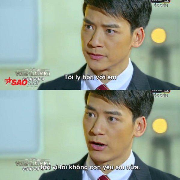 """Mọt phim bức xúc với cái kết của """"Định mệnh anh yêu em' bản Thái (10)"""