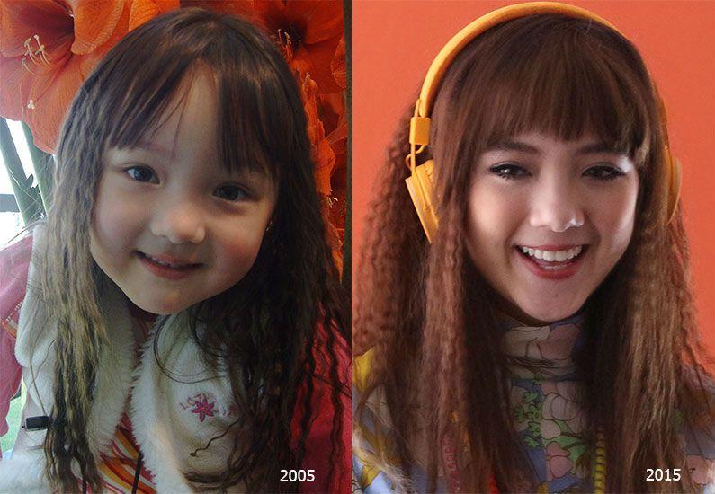 Ngắm loạt ảnh dễ thương, xinh xắn của cô nàng Ploy Chompoo thuở nhỏ (6)
