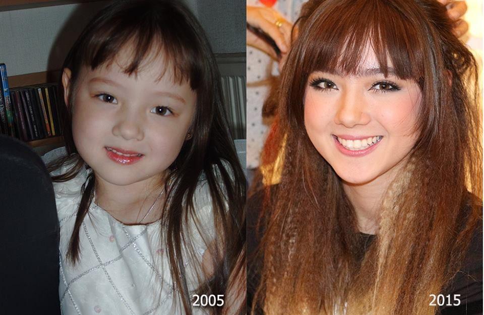 Ngắm loạt ảnh dễ thương, xinh xắn của cô nàng Ploy Chompoo thuở nhỏ (7)