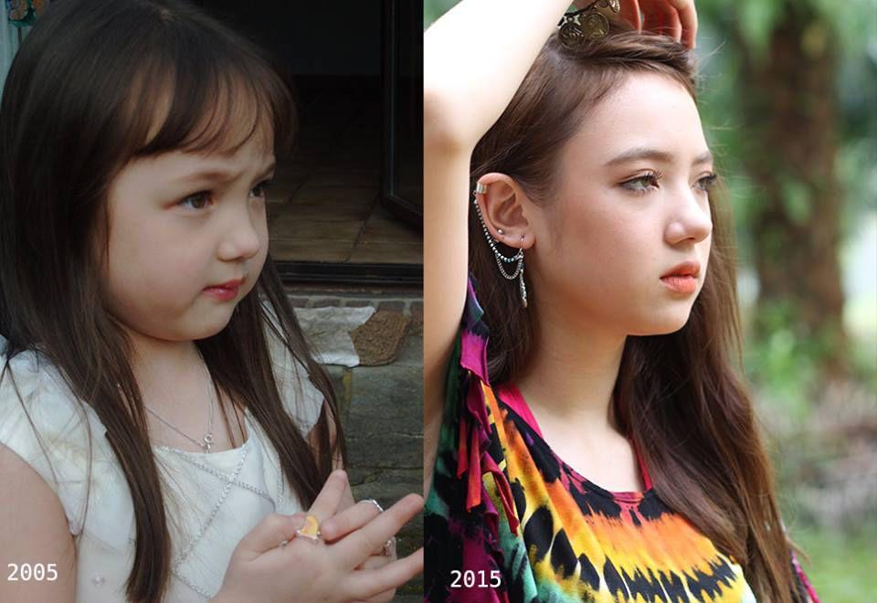 Ngắm loạt ảnh dễ thương, xinh xắn của cô nàng Ploy Chompoo thuở nhỏ (8)