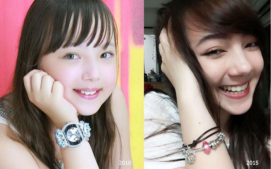 Ngắm loạt ảnh dễ thương, xinh xắn của cô nàng Ploy Chompoo thuở nhỏ (9)
