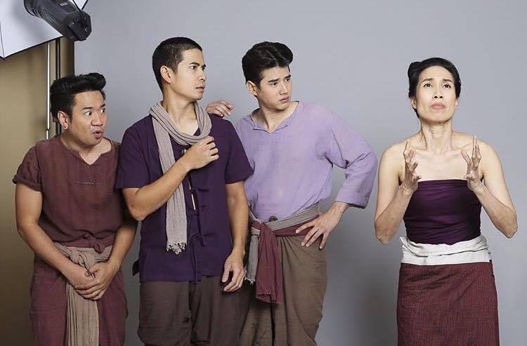 "Mario Maurer & Kim Kimberley hợp tác trong ""Thong ek Mor ya Tha chalong"" (6)"
