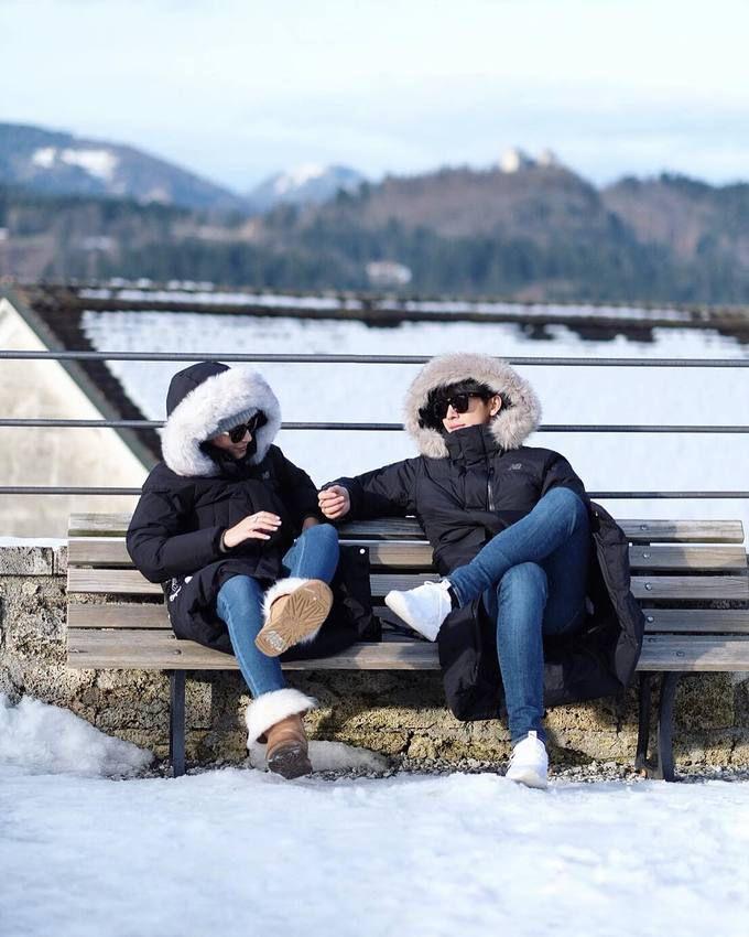 Push Puttichai & Warattaya Nilkuha tận hưởng mùa đông trắng xóa ở Đông Âu (1)