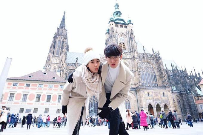 Push Puttichai & Warattaya Nilkuha tận hưởng mùa đông trắng xóa ở Đông Âu (2)