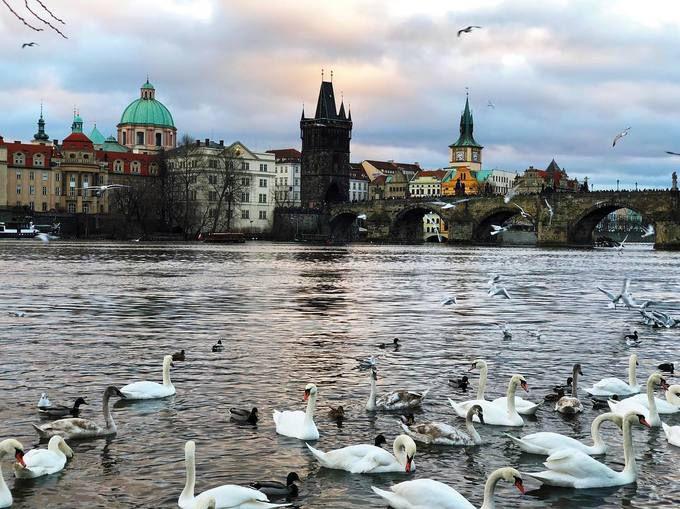 Push Puttichai & Warattaya Nilkuha tận hưởng mùa đông trắng xóa ở Đông Âu (4)
