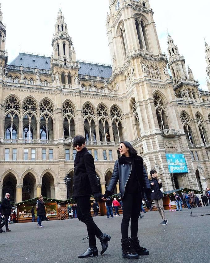 Push Puttichai & Warattaya Nilkuha tận hưởng mùa đông trắng xóa ở Đông Âu (9)