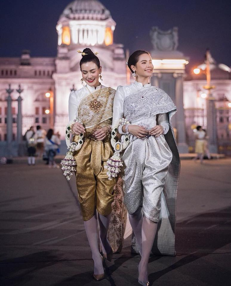 Ngắm dàn trai xinh gái đẹp Thái Lan trong trang phục truyền thống (1)