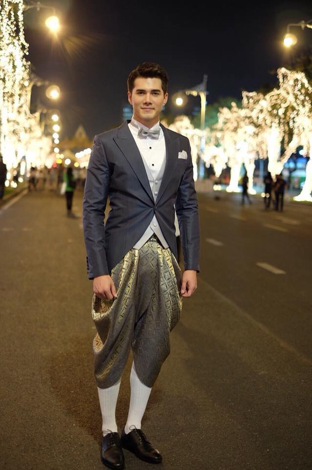 Ngắm dàn trai xinh gái đẹp Thái Lan trong trang phục truyền thống (12)