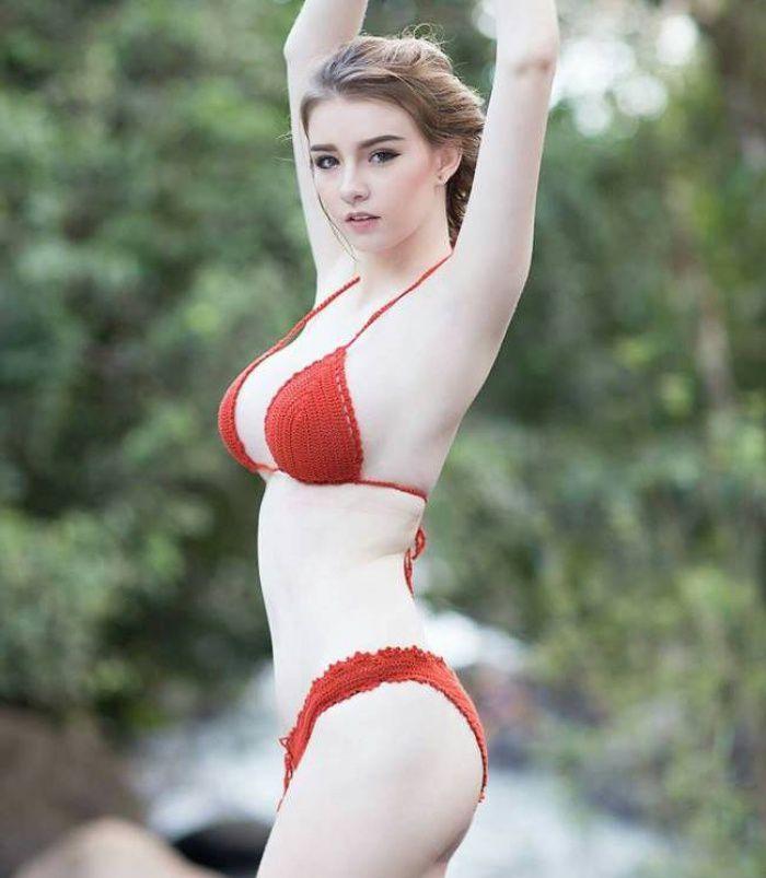 """Nữ thần Thái Lan """"Jessie Vard"""" tung bộ ảnh nóng đến nghẹt thở tuổi 18 (15)"""