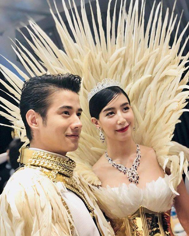 Anne Thongprasom lấn át Mario Maurer & Mint Chalida trong sự kiện mới (3)