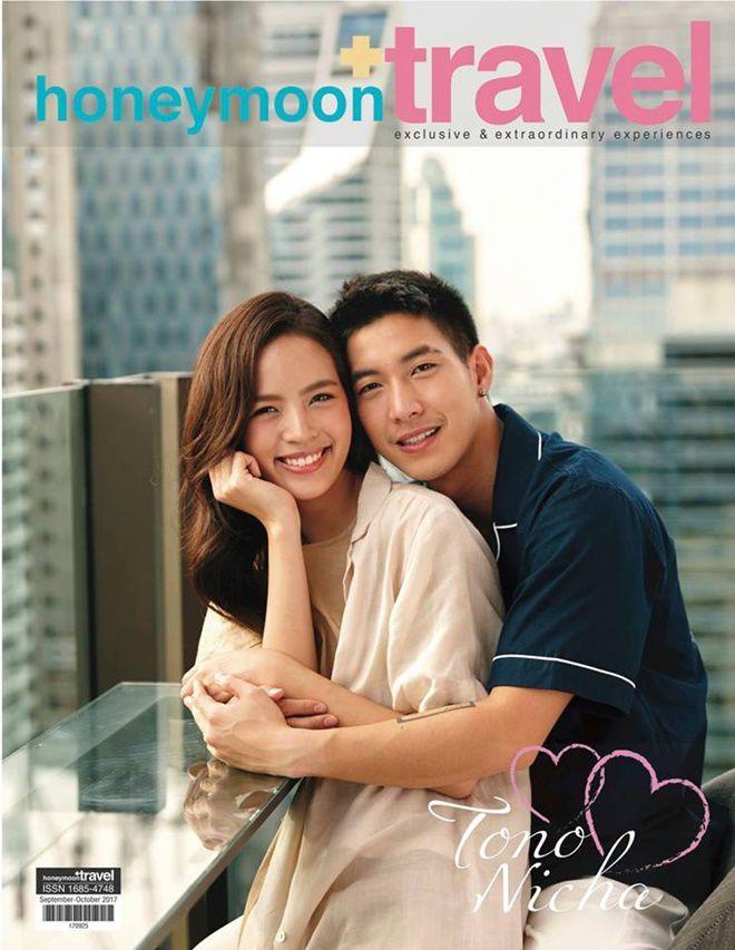 Phim giả tình thật, Tono Pakin & Nychaa Nuttanicha lộ tin đồn hẹn hò (1)