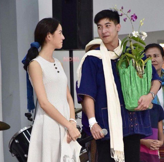 Phim giả tình thật, Tono Pakin & Nychaa Nuttanicha lộ tin đồn hẹn hò (14)