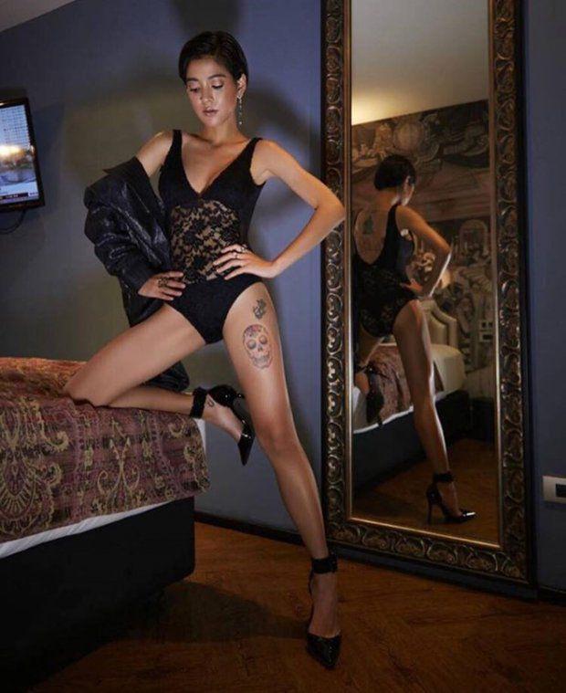 Giật mình với bộ ảnh táo bạo & sexy của ác nữ Lee (Apinya Sakuljaroensuk) (9)