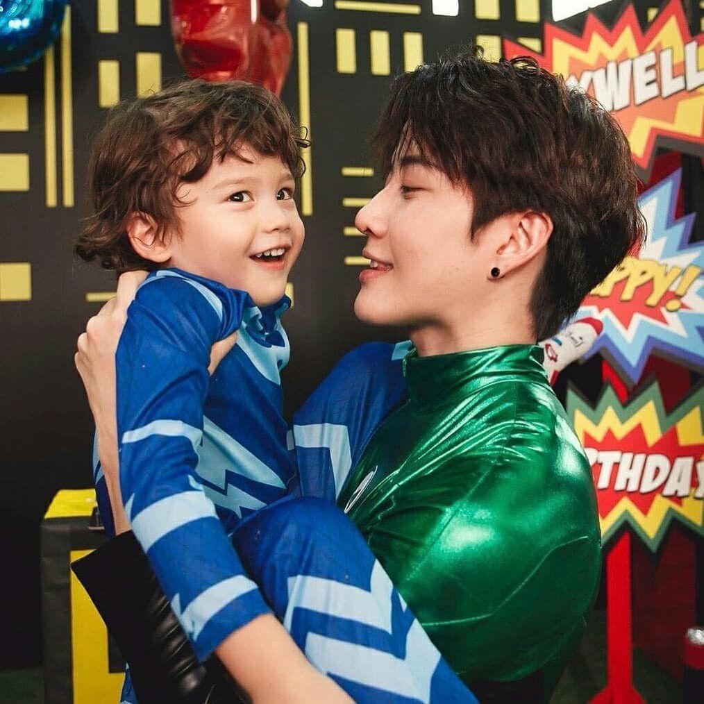 Mike Angelo đăng loạt ảnh tổ chức sinh nhật cho con trai 4 tuổi Maxwell (7)