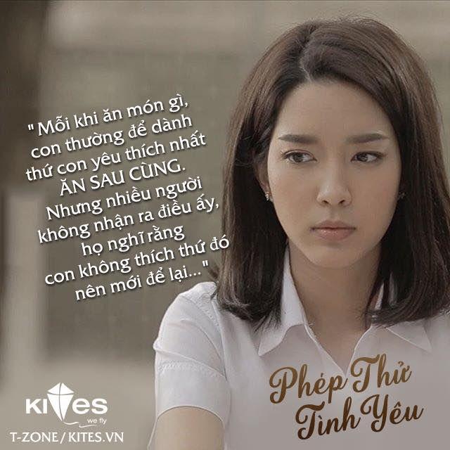 Những câu nói, trích dẫn hay trong phim Thái về tình yêu | Quotes Hay (2)