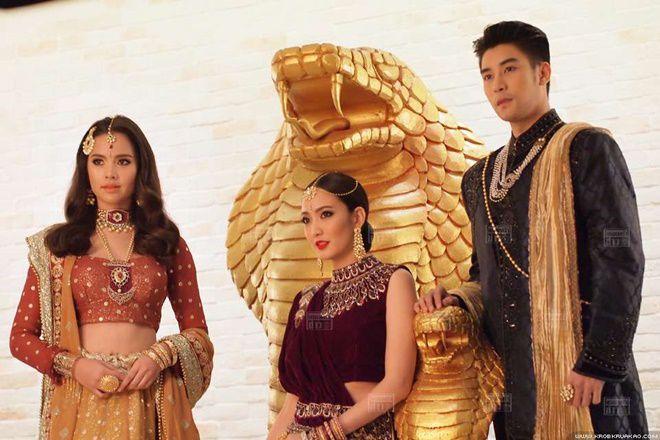 Tò mò về vai diễn của Ken Phupoom & Taew Natapohn trong Nữ thần rắn 2 (13)