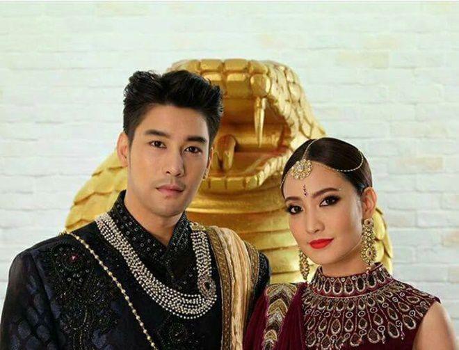 Tò mò về vai diễn của Ken Phupoom & Taew Natapohn trong Nữ thần rắn 2 (15)