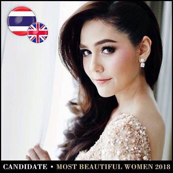 Những mỹ nhân Thái lọt Top 100 gương mặt đẹp nhất thế giới năm 2018 (1)